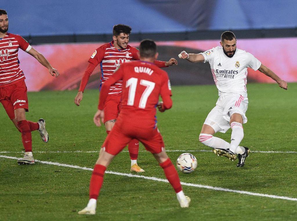 Madrid Vs Granada: Menang 2-0, Los Blancos Tempel Atletico