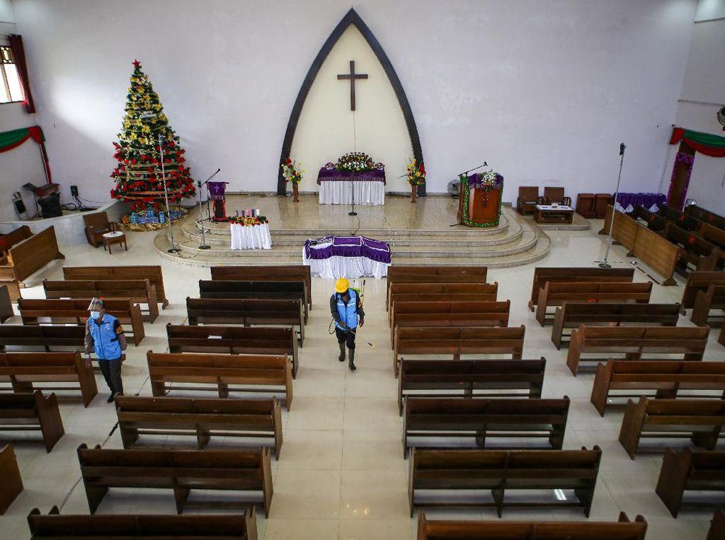 Saat Gereja di Berbagai Daerah Indonesia Bersiap Sambut Natal