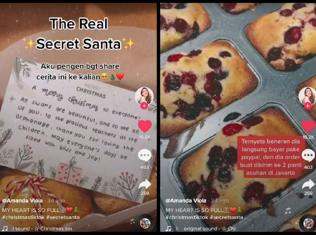 Secret Santa! Bule Ini Pesankan Kue untuk Panti Asuhan di Jakarta