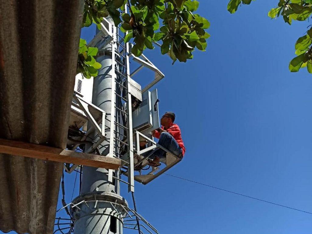 1.111 BTS USO Telkomsel di Wilayah Pelosok Di-Upgrade Jadi 4G