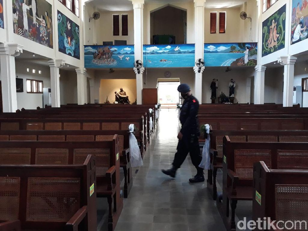 Tim Gegana Cek Gereja Kotabaru Yogya Jelang Natal, Ini Hasilnya