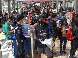 125.131 Penumpang Diberangkatkan dari Stasiun di DKI Sepanjang Libur Nataru