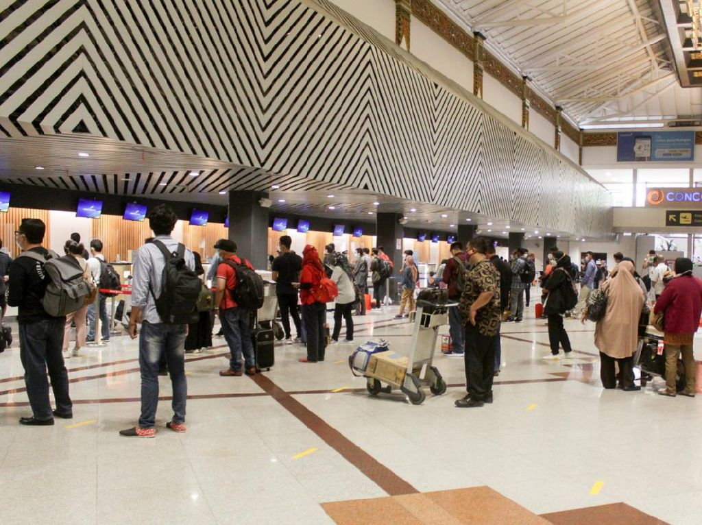 Penumpang Bandara Juanda Naik 11 Persen di Pekan Kedua Bulan Maret