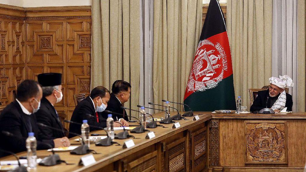 Bertemu Presiden Afghanistan, JK Bahas Solusi Konflik