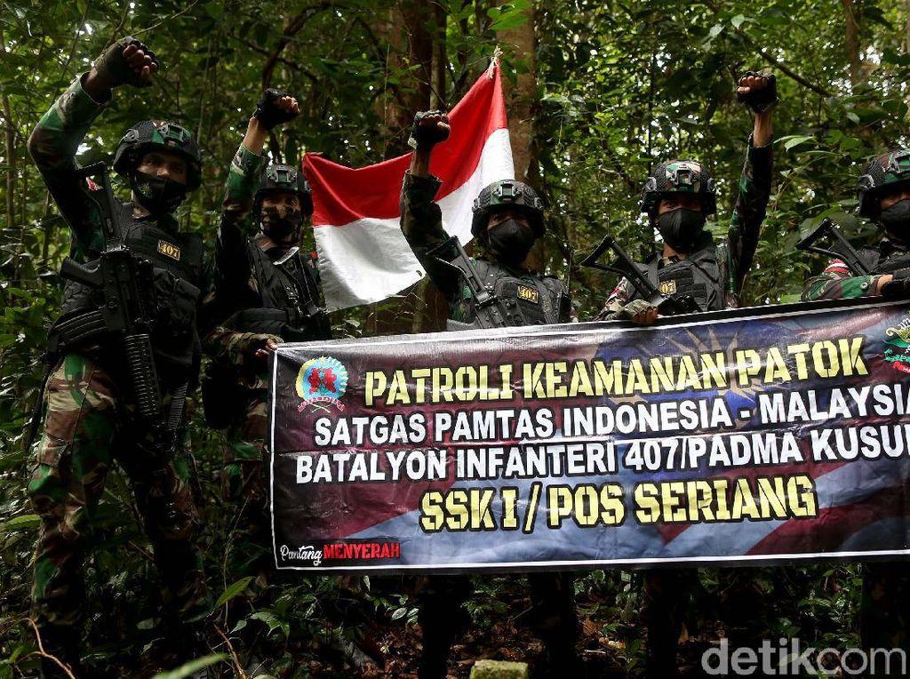 Ekspedisi Mencari Patok Perbatasan Bersama TNI, Bikin Cinta NKRI