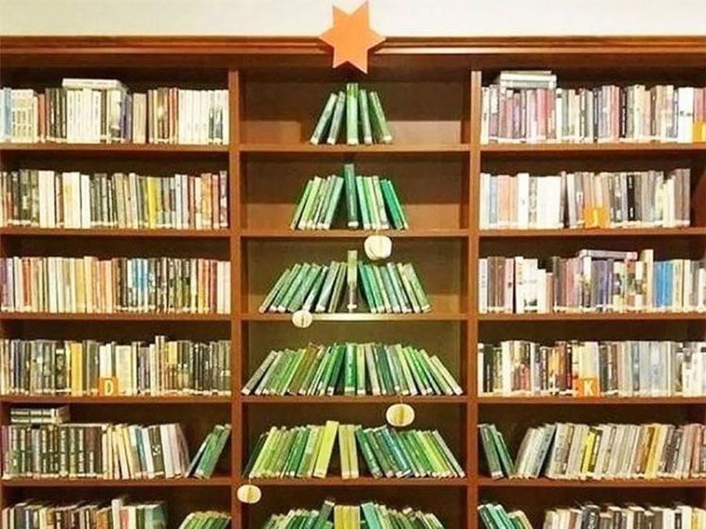 Kumpulan Kreasi Pohon Natal yang Super Kreatif
