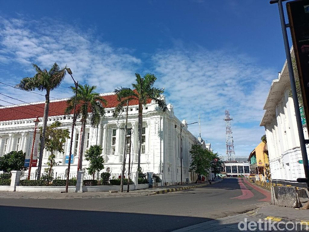Wisata Kota Tua Jakarta Ditutup Hari Ini, Begini Suasananya