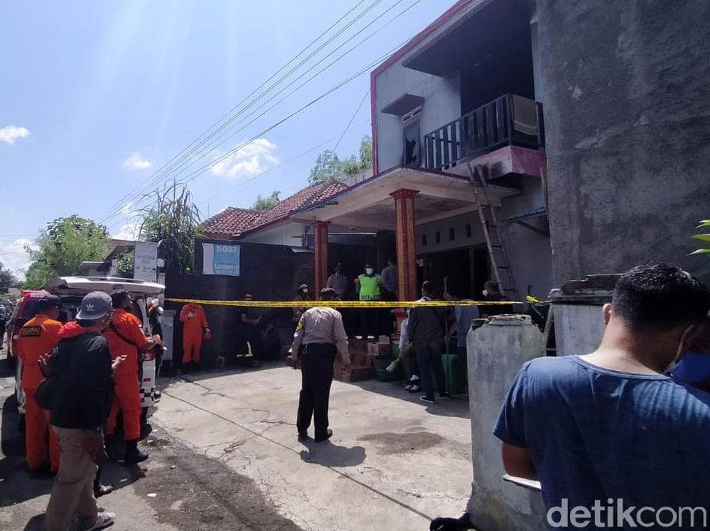 1 Korban Tewas Kebakaran Rumah Kos di Sukoharjo Ditemukan Telanjang