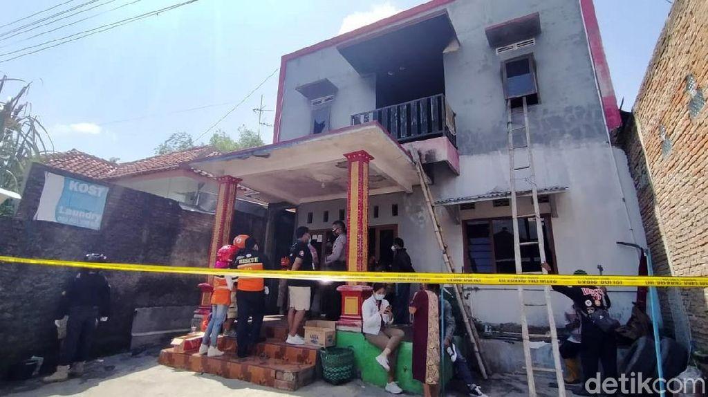 Rumah Kos Terbakar Tewaskan 3 Orang di Sukoharjo
