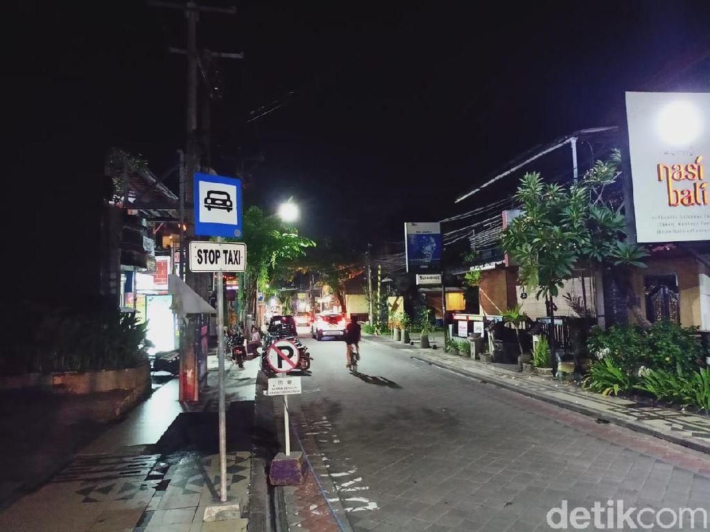 Kini Legian Bali Layaknya Kota Mati