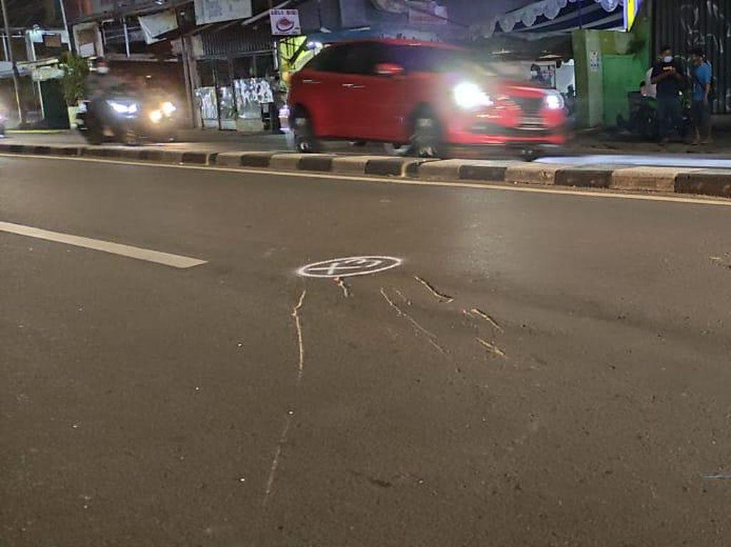 Dirlantas Pimpin Olah TKP Kecelakaan Polisi Tabrak Motor di Jaksel
