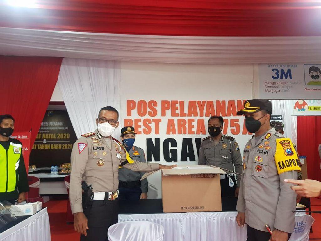 Pelanggar Prokes di Tol Ngawi, Siap-siap Saja Dirapid Test Antigen