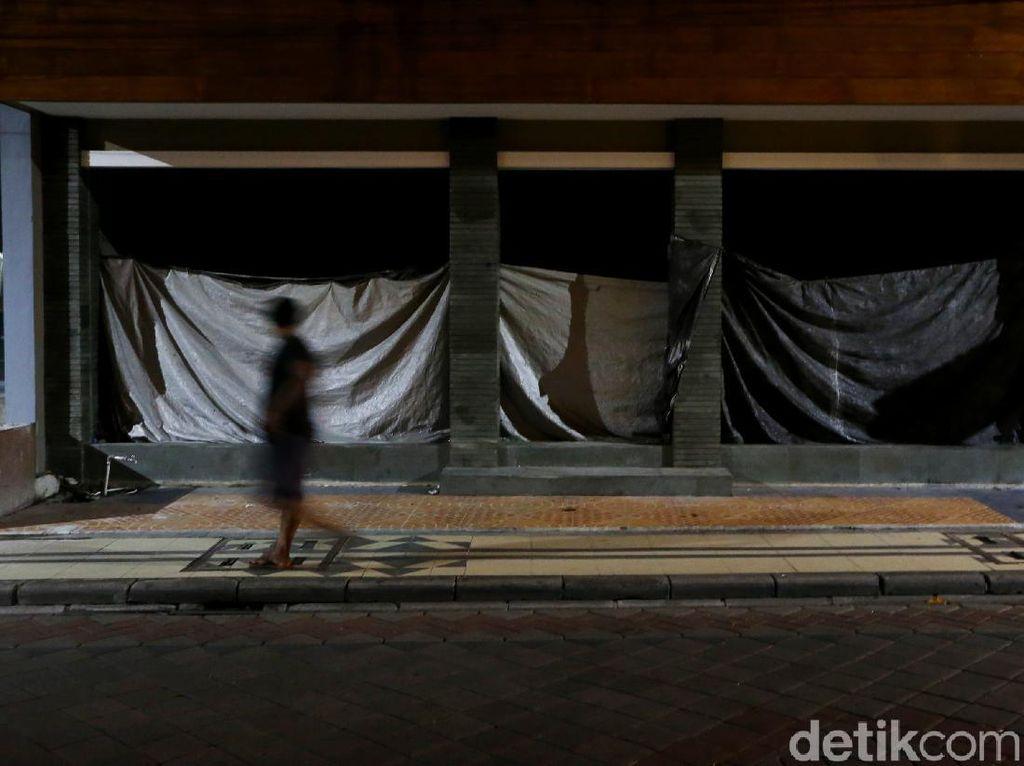 Awas! Ada 60 Zona Merah-Legian Bali Masih Mati Suri