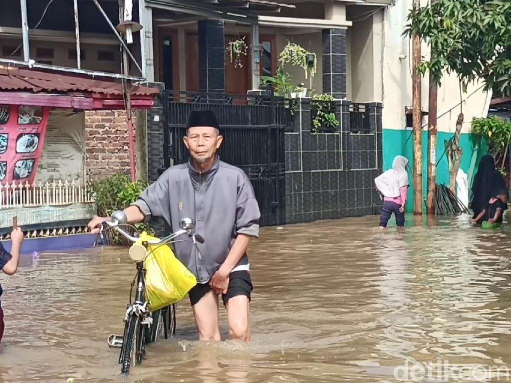 Soal Banjir di Bandung, BNPB: Air Lebihi Batas Siaga Citarum