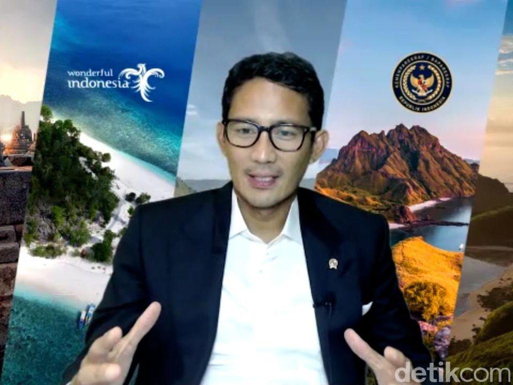 Bangkitkan Pariwisata, Ini 360 Derajat-nya Sandiaga Menjawab Tantangan Jokowi