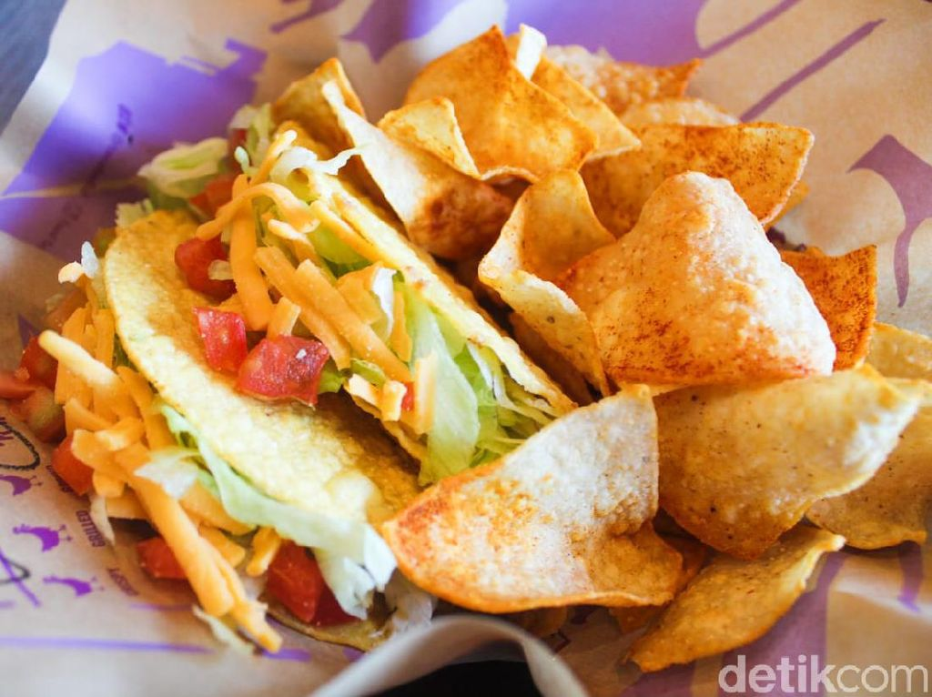 Mencicipi Taco Supreme yang Hits di Taco Bell