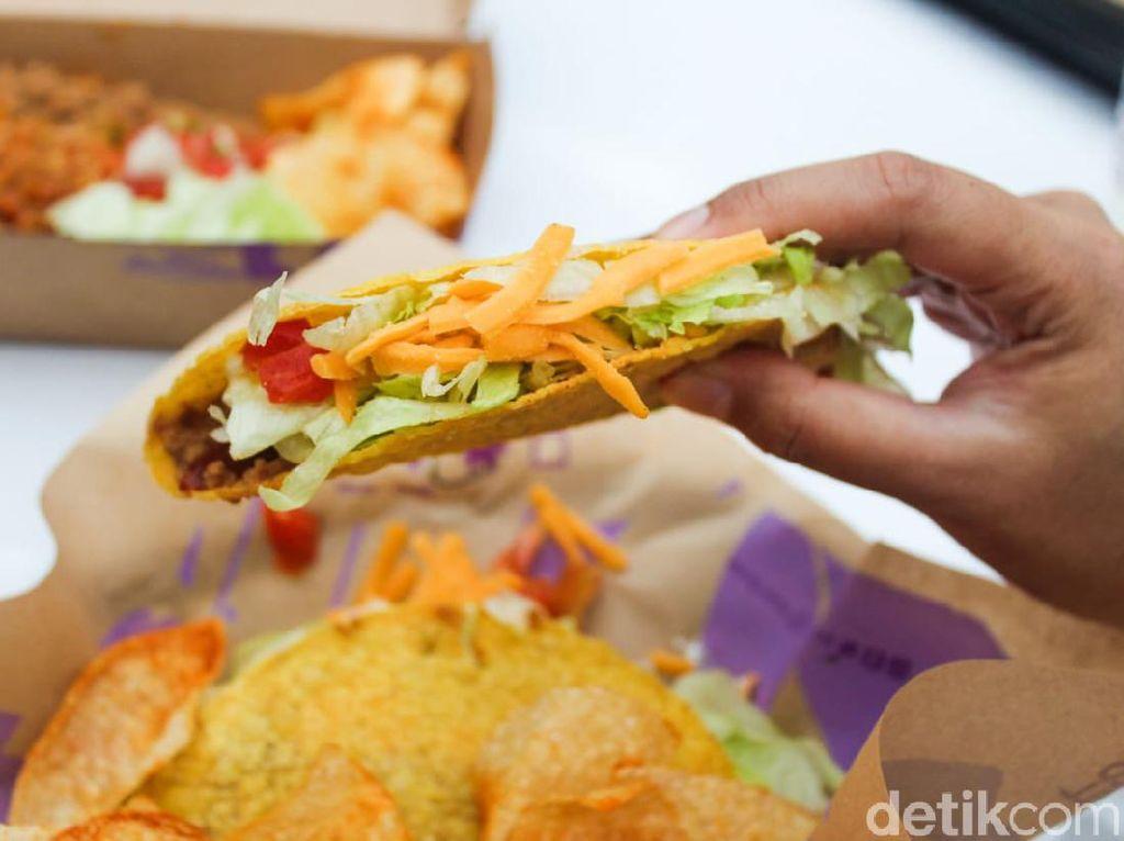 Taco Bell: Cicip Taco Supreme hingga Burrito Buatan Resto Amerika Hits