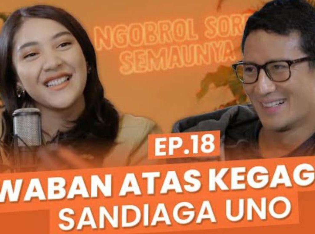 NSS: Putri Tanjung-Sandiaga Uno Bicara Cover Boy hingga Privasi Anak