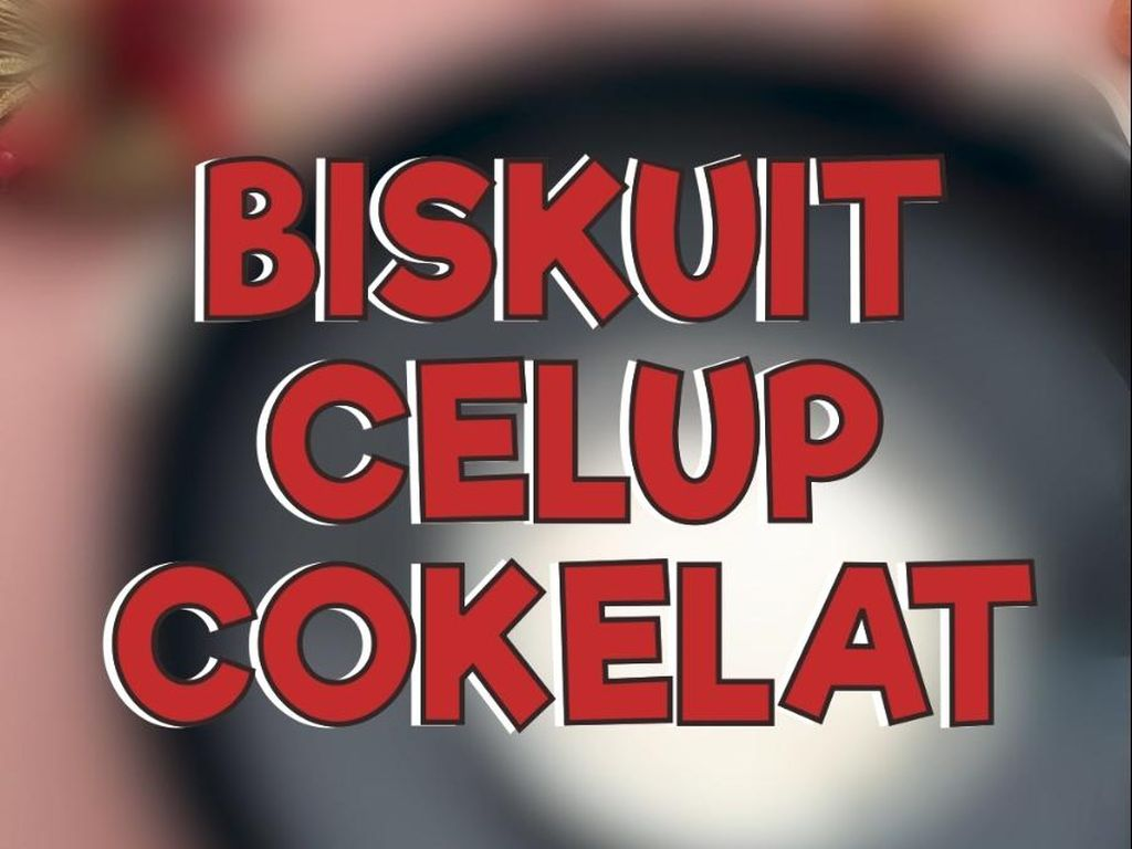 Rekomendasi Camilan Natal: Biskuit Cokelat Celup