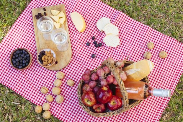 Kebutuhan piknik di rumah