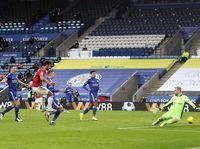 Leicester Vs MU Berakhir 2-2