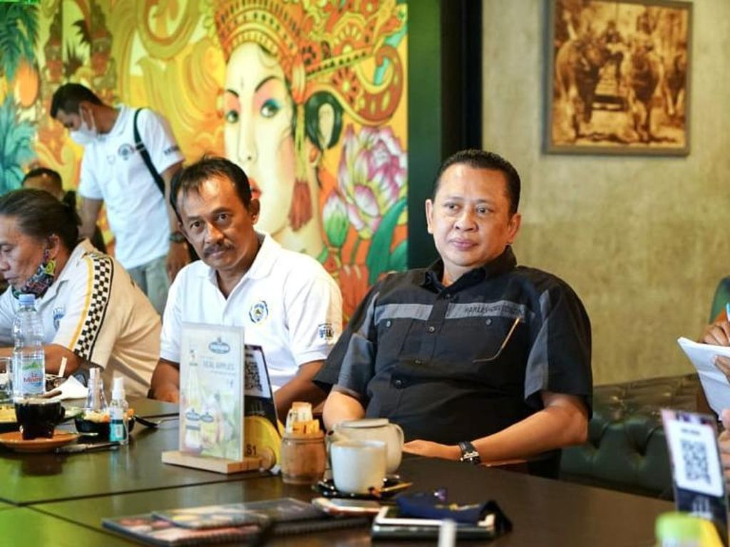 Bertemu Pengurus IMI Bali, Bamsoet Ajak Kembangkan Digital Motosport