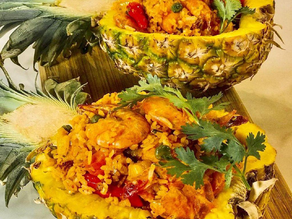 Masak Masak : Nasi Goreng Nanas dan Sefood yang Segar