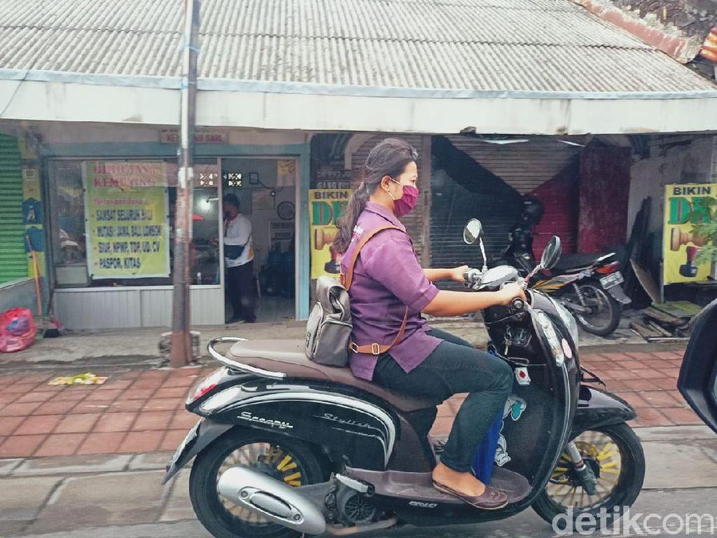 Dear Bikers, Pak Anies Bikin Aturan Soal Masker Kain, Ada Sanksi Jika Tak Sesuai