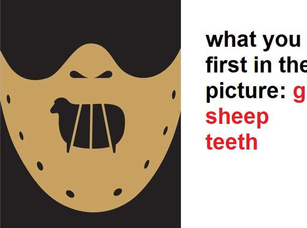 Tes Kepribadian: Gambar Hantu atau Domba yang Pertama Kamu Lihat?