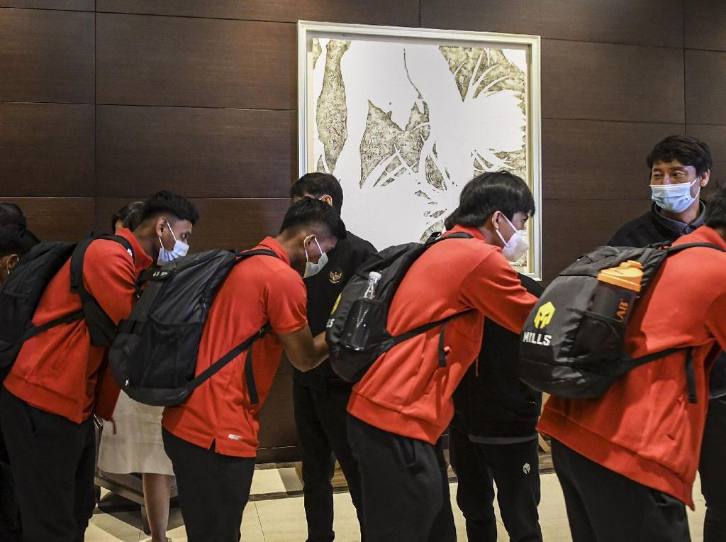 Reaktif COVID-19, 3 Pemain Timnas U-19 Ditinggal di Jakarta