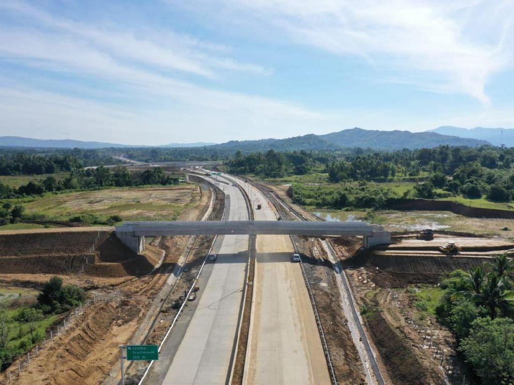 Jalan Tol Sigli-Banda Aceh Seksi 3 Dibuka Fungsional Rabu Besok