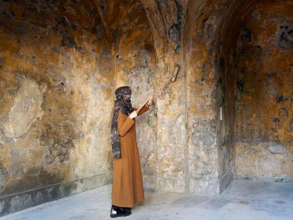 Upaya Para Seniman Melestarikan Bangunan Tua Bersejarah di Gaza