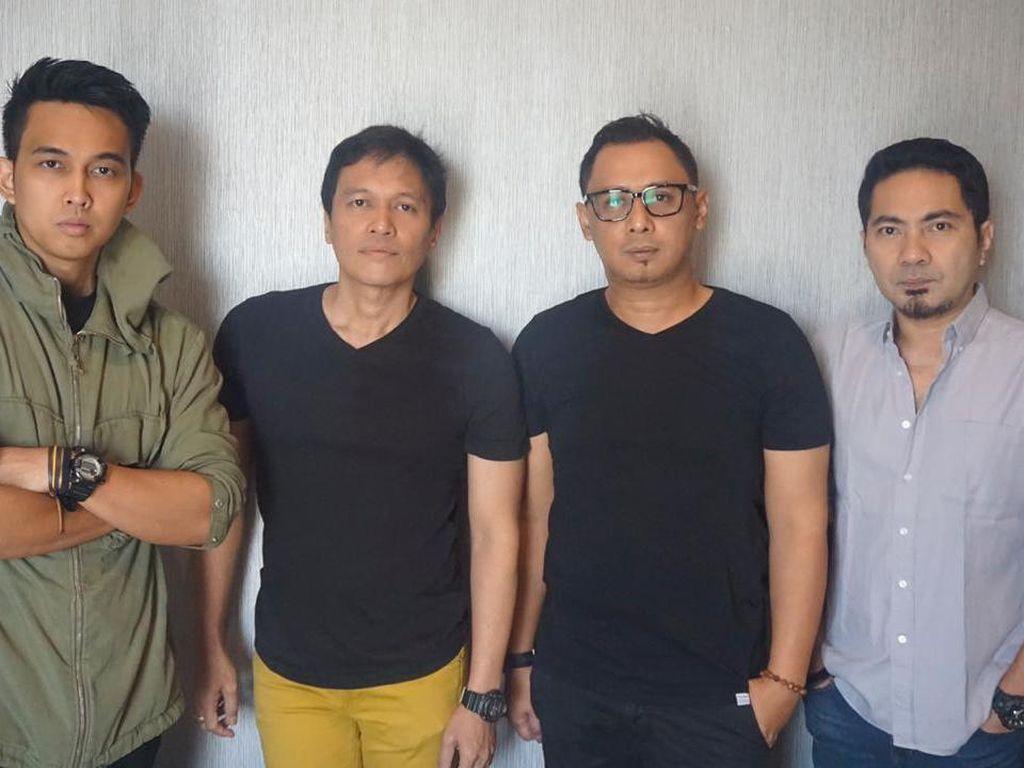 Bersama Naga, Ada Band Luncurkan Tak Lagi Cinta