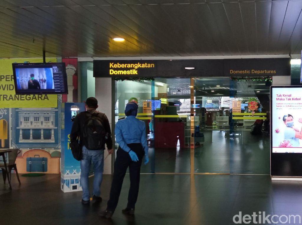 Wajib Tes PCR, Penumpang Pesawat Bandung-Bali via Bandara Husein Sempat Turun