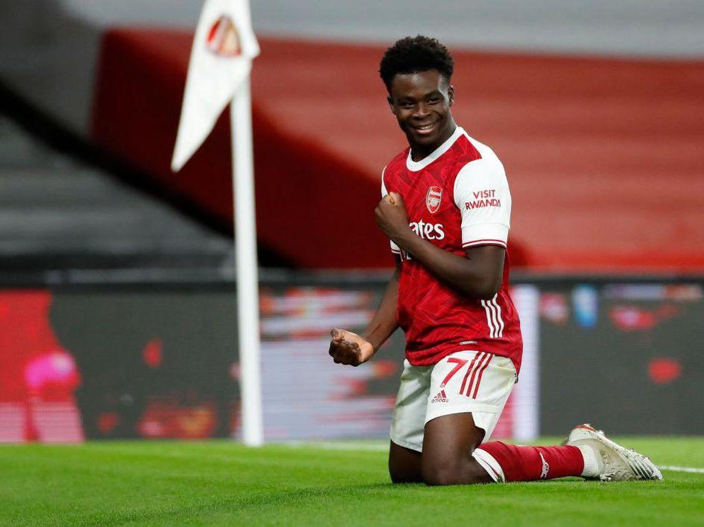 Bukayo Saka Ungkap Posisi Terbaiknya di Arsenal