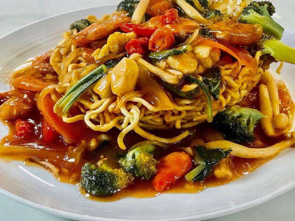 Masak Masak : Ifu Mie Seafood yang Renyah Gurih
