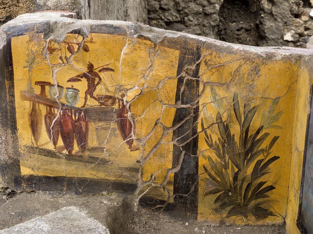 Kedai Cepat Saji Berusia 2.000 Tahun Ditemukan di Pompeii
