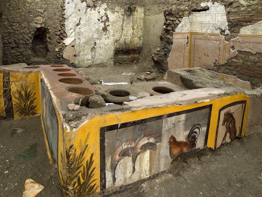 Ini Nih Kedai Fast Food Romawi Kuno di Pompeii