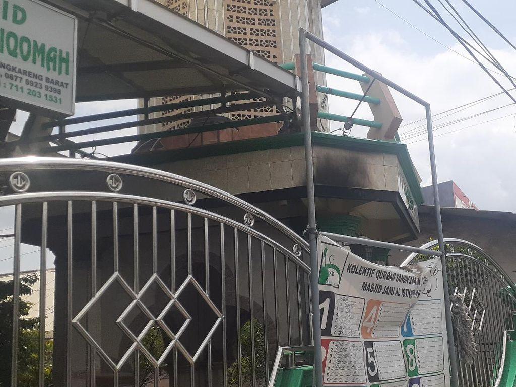 Begini Kondisi Masjid di Cengkareng Usai Peristiwa Pelemparan Molotov