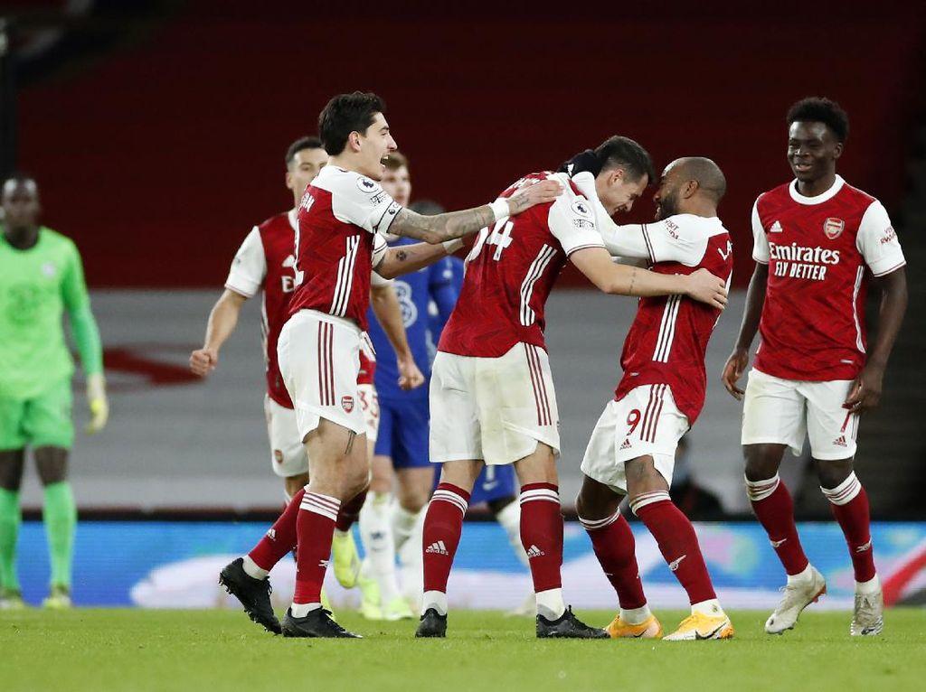 Arsenal Vs Chelsea: Meriam London Gebuk The Blues 3-1