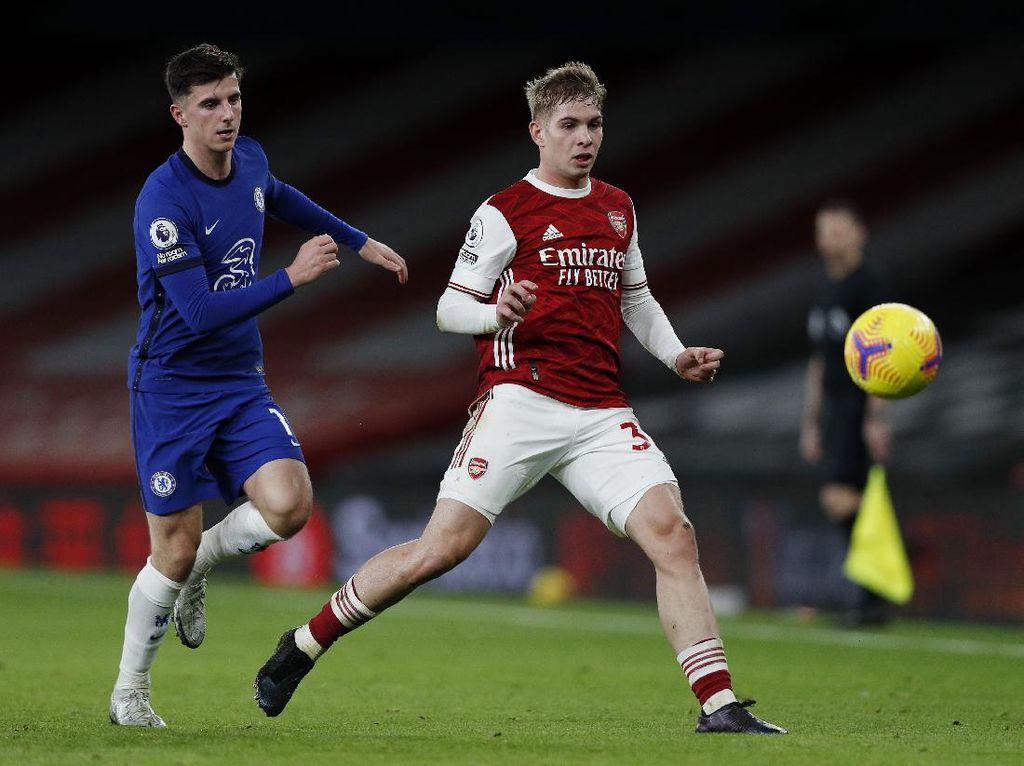 Emile Smith Rowe, Gelandang Muda Arsenal yang Tampil Apik Lawan Chelsea