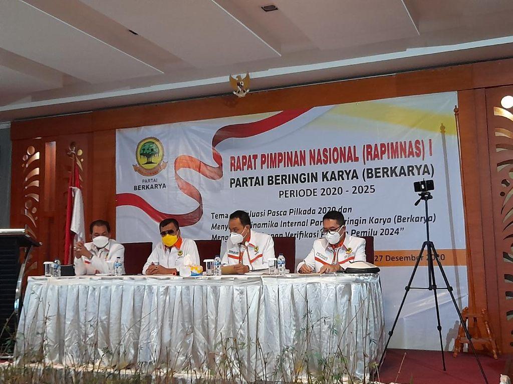 Rapimnas Partai Berkarya, DPP Banyak Terima Aduan soal Konflik Internal di DPW