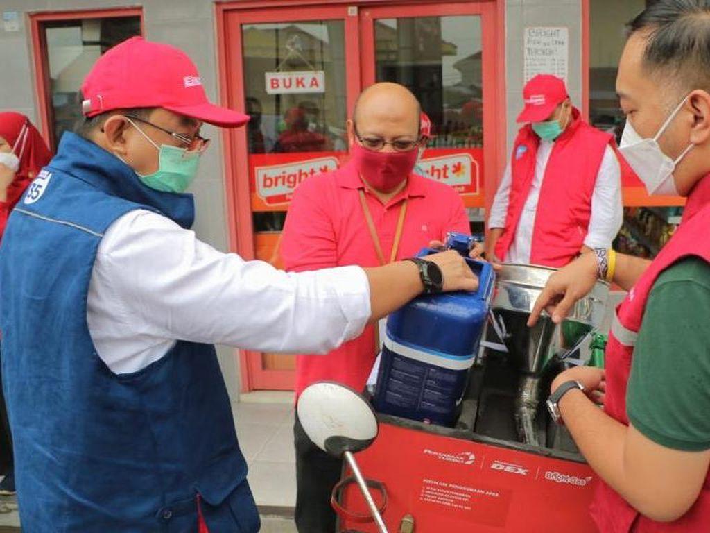 Nataru, Pertamina Pastikan Stok BBM dan LPG di Jalur Puncak Aman