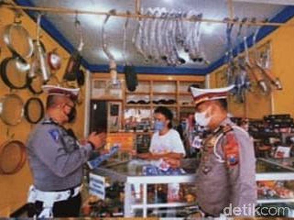 Polisi Lamongan Sosialisasi ke Bengkel soal Larangan Knalpot Brong