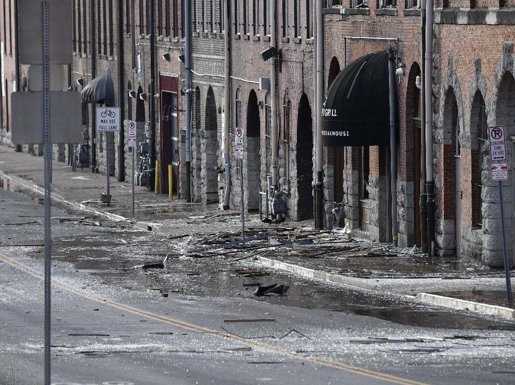 Teka-teki Pria Tua dan Ledakan di Nashville Amerika