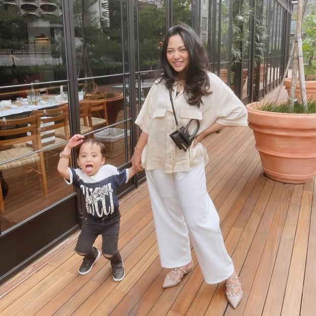 Rachel Vennya jalan bersama Xabiru/instagram.com/rachelvennya