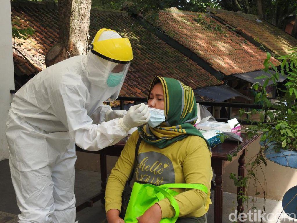 Rapid Test Antigen di Bunbin Bandung, 3 Wisatawan Positif COVID-19