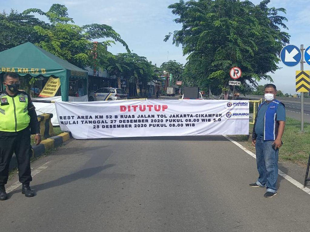 Rest Area Km 52B Tol Japek Ditutup Sementara, Antisipasi Macet Libur Panjang