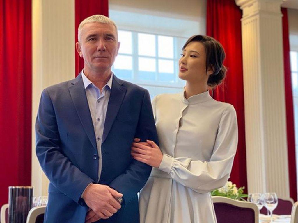 Foto Atlet Voli Cantik Kazakhstan Menikah, Bikin Pria Indonesia Patah Hati