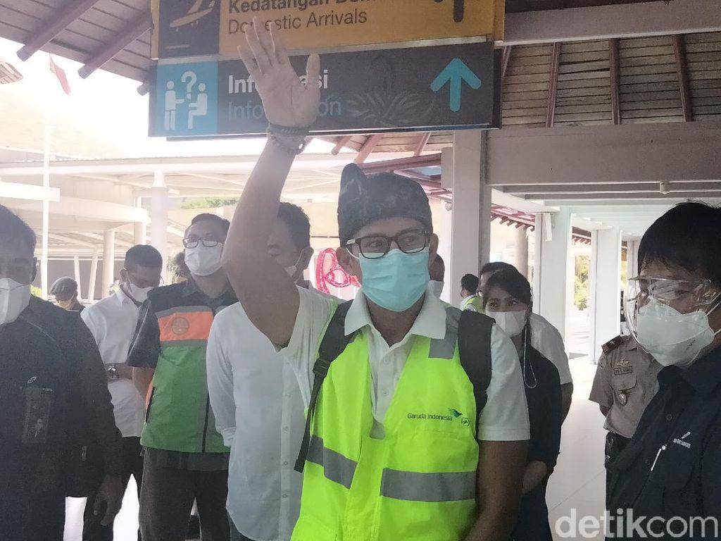 Sandiaga Uno ke Bali juga Mau Bahas Wisata Halal